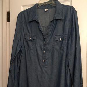 Old Navy XL DENIM DRESS.